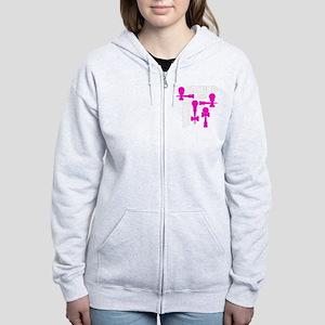 pink ATW 7 Women's Zip Hoodie