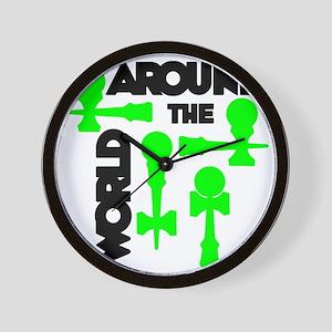 green ATW 7 Wall Clock