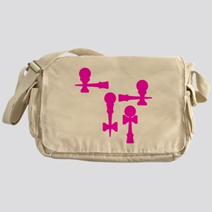pink ATW 7 Messenger Bag