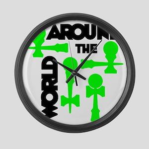 green ATW 7 Large Wall Clock