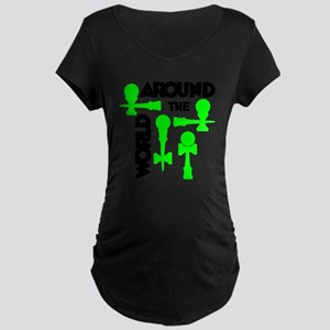 green ATW 7 Maternity Dark T-Shirt