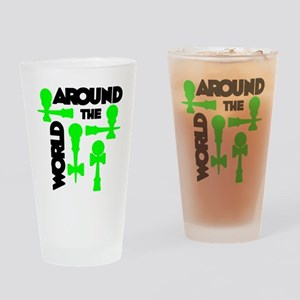 green ATW 7 Drinking Glass