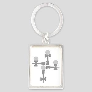 grey ATW 6b Portrait Keychain