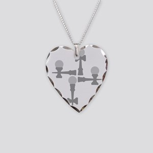 grey ATW 6b Necklace Heart Charm