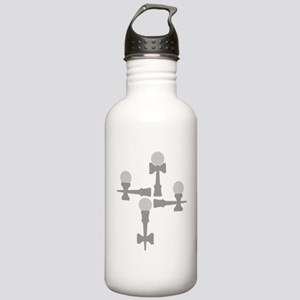 grey ATW 6b Stainless Water Bottle 1.0L