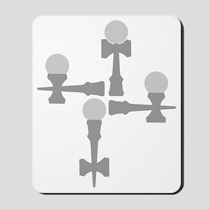 grey ATW 6b Mousepad