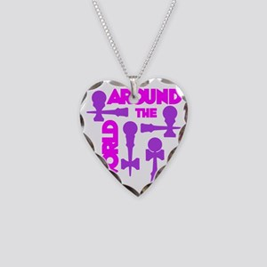 purple2 ATW 7 Necklace Heart Charm