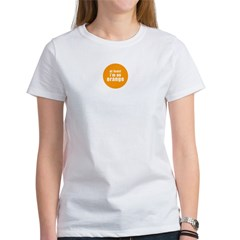 I'm an orange Women's T-Shirt