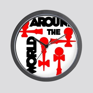red ATW 7 Wall Clock