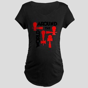 red ATW 7 Maternity Dark T-Shirt