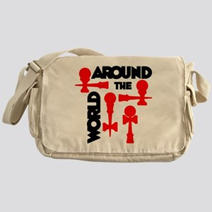 red ATW 7 Messenger Bag