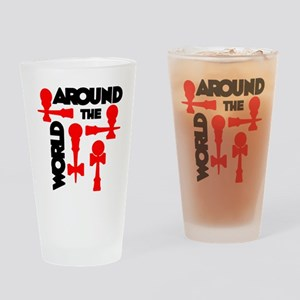 red ATW 7 Drinking Glass