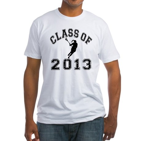 Class Of 2013 Girl lacrosse Fitted T-Shirt
