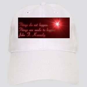 Coffee Mug John F. Kennedy Quote Cap
