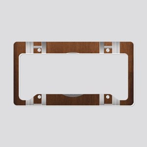 tr_Rectangular Canvas Pillow License Plate Holder