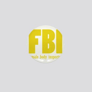 female body inspector Mini Button