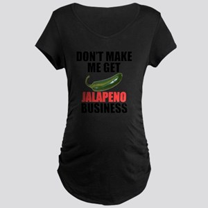 Jalapeno Business Maternity Dark T-Shirt