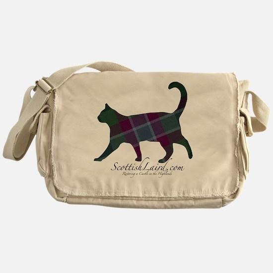 The Dunans Tartan Cat Messenger Bag