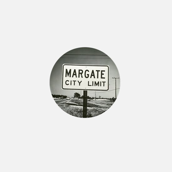 Margate City Limits Street Sign Mini Button