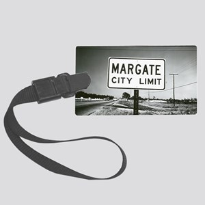Margate City Limits Street Sign Large Luggage Tag