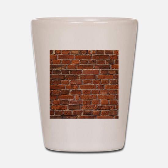 Brick Wall Shot Glass