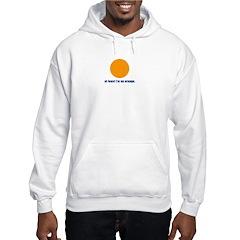 at least i'm an orange Hoodie