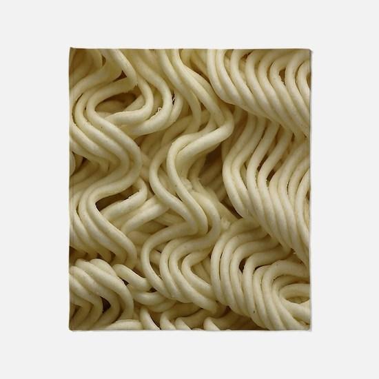Ramen Noodle Throw Blanket