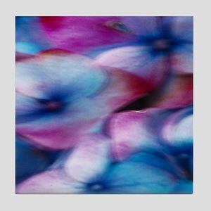 Hydrangea in the wind Tile Coaster