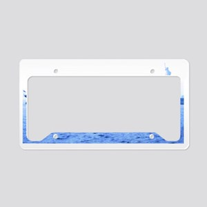 Boat of dreams License Plate Holder