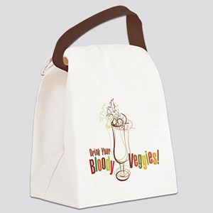 Drink Your Bloody Veggies! Canvas Lunch Bag