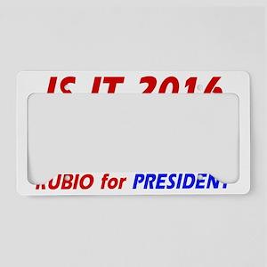 _0026_RUBIO for PRESIDENT cop License Plate Holder