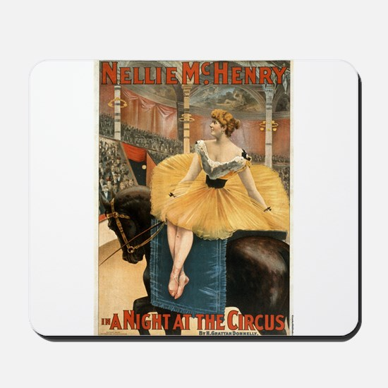 Night at the circus - Strobridge - 1893 Mousepad