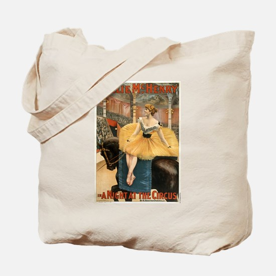Night at the circus - Strobridge - 1893 Tote Bag