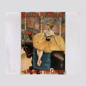 Night at the circus - Strobridge - 1893 Throw Blan