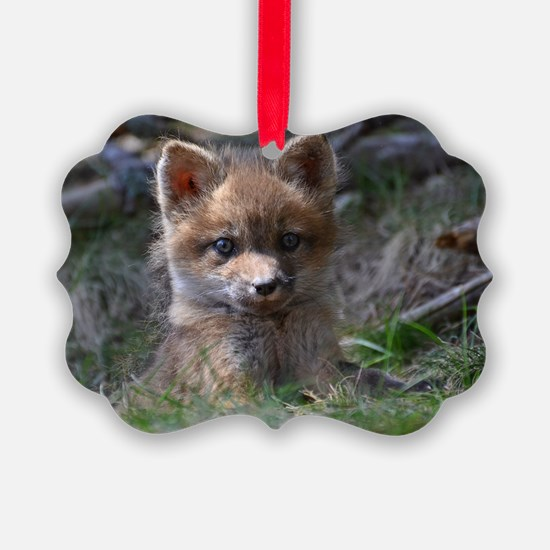 baby fox Ornament