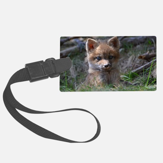 baby fox Luggage Tag