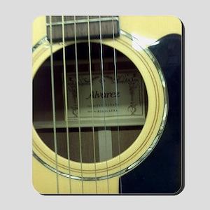 Guitar Sound Hole Mousepad