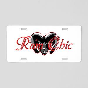 Ram Chic Aluminum License Plate