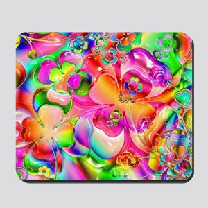 Rainbow Gell Shapes Mousepad