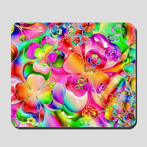 Rainbow Gell Shapes Mousepad