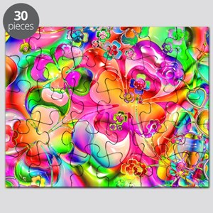 Rainbow Gell Shapes Puzzle