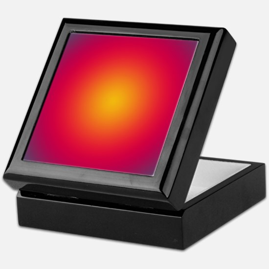 Rising Sun Keepsake Box