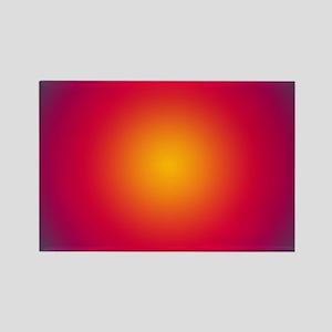 Rising Sun Rectangle Magnet