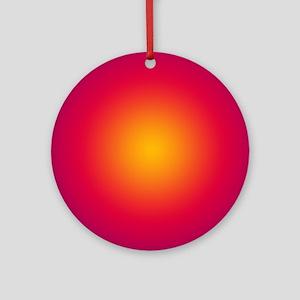 Rising Sun Round Ornament