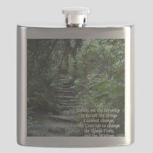 Serenity Prayer Flask