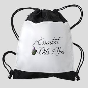 Essential Oils 4 You Drawstring Bag