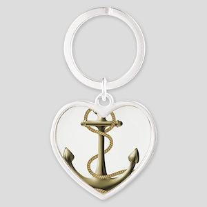 Gold Anchor Keychains