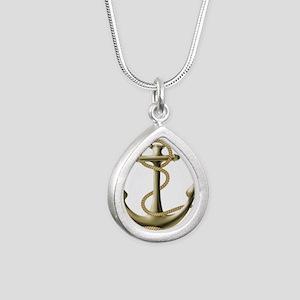 Gold Anchor Necklaces