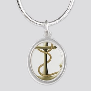Gold Anchor Necklaces