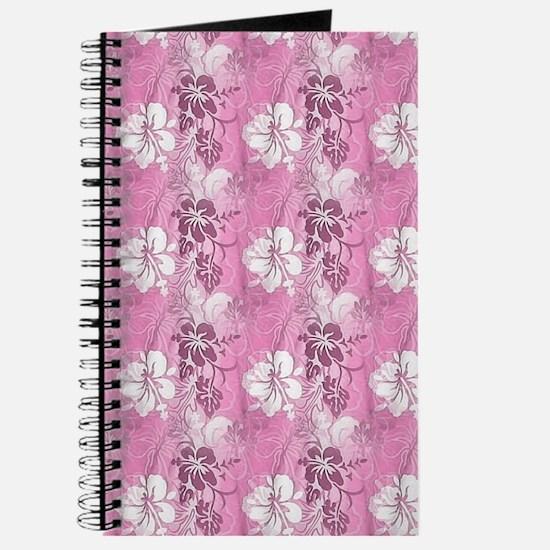 Pink Hawaiian Flowers Journal
